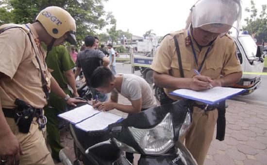 CA HN: Phát hiện gần 1500 vụ phạm pháp trong tháng cao điểm