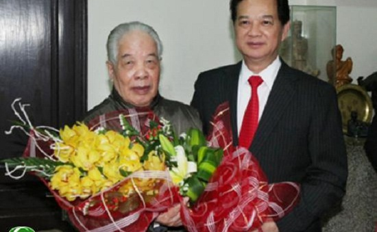 Thủ tướng Nguyễn Tấn Dũng chúc Tết nguyên lãnh đạo Đảng, Nhà nước