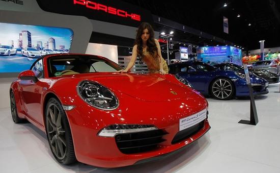 600 mẫu xe trưng bày tại Bangkok Motor Show 2013