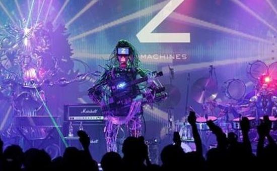 Độc đáo robot biểu diễn âm nhạc ở Tokyo