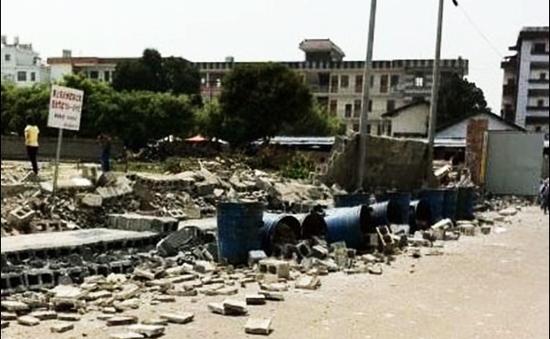 Động đất mạnh 5,8 độ richter tại Trung Quốc