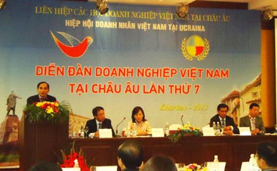 Khai mạc diễn đàn Doanh nghiệp Việt Nam tại châu Âu lần 7