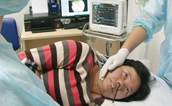 Ứng dụng thành công nội soi tiêu hóa qua đường mũi