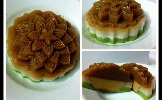 Thử làm bánh Trung thu rau câu Flan mát lạnh