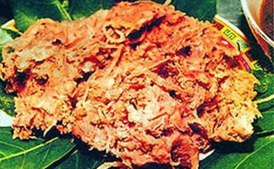 Thịt lợn muối chua - Đặc sản của người Dao Tiền