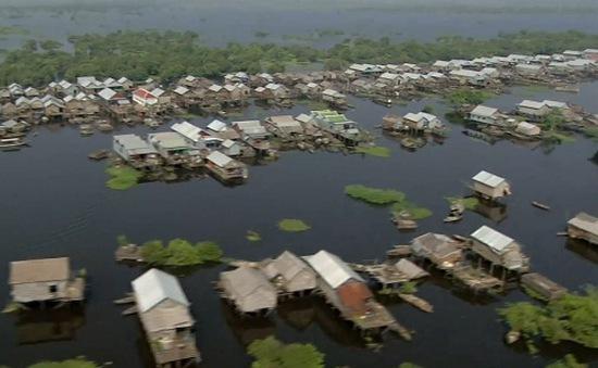 Khám phá Biển Hồ tươi đẹp của Campuchia