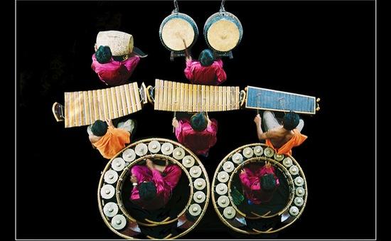 Nhạc ngũ âm cùng người Khmer đón Tết