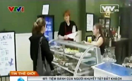 Mỹ: Tiệm bánh của những người khuyết tật đắt khách