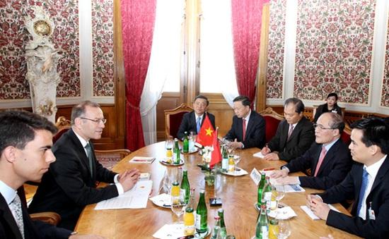 Chuyến thăm Thụy Sỹ, Italy của Chủ tịch Quốc hội kết thúc tốt đẹp