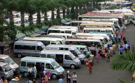 TPHCM: Giá vé xe tăng 40% dịp 30/4