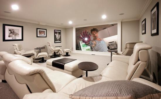 6 ý tưởng tuyệt vời cho phòng giải trí gia đình