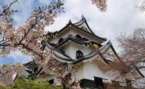 5 lâu đài tuyệt đẹp xứ sở hoa anh đào
