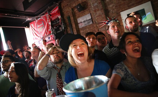 World Cup - Mùa bội thu của các quán bar ở New York