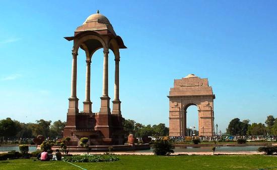 India Gate - Điểm đến quen thuộc của người dân Ấn Độ