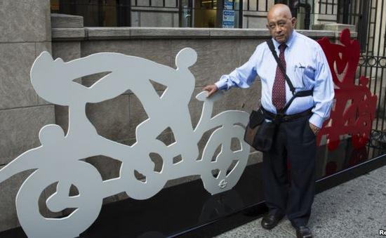 Triển lãm điêu khắc xe đạp độc đáo tại New York