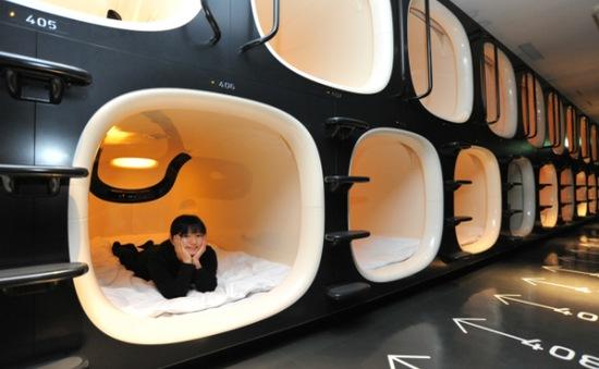 Hộp ngủ mini ở các sân bay nổi tiếng thế giới