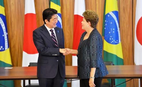 Nhật Bản, Brazil nhất trí nâng tầm quan hệ đối tác chiến lược