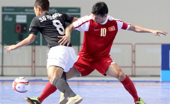 Futsal Việt Nam: Bộn bề nhiệm vụ trong năm 2013