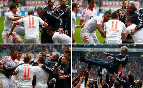 Bayern Munich vô địch Bundesliga trước 6 vòng