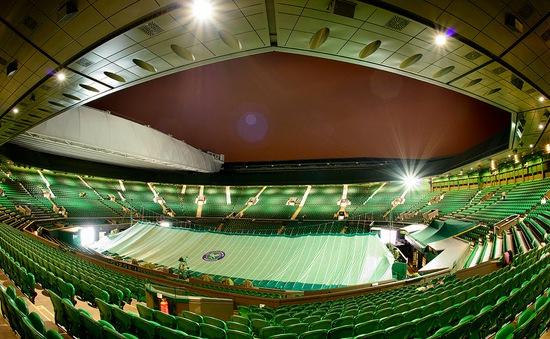 Ngắm nhìn Wimbledon lung linh về đêm