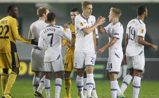 Europa League: Tottenham phô diễn sức mạnh