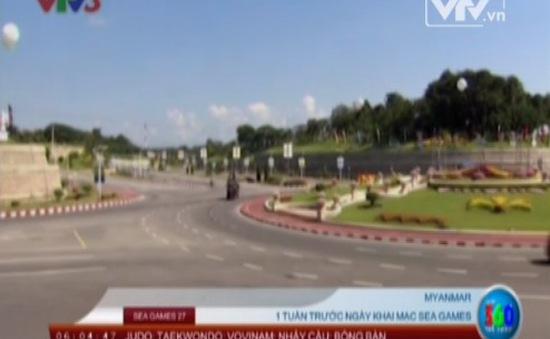 SEA Games 27: Naypyidaw rộn ràng trước ngày hội