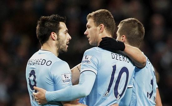 Man City 1-0 Crystal Palace: Thắng nhẹ, Man xanh chiếm ngôi đầu (VIDEO)