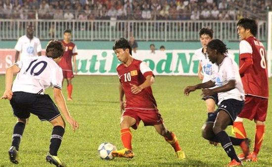 U19 Việt Nam 2-3 U19 Tottenham: Trắng tay vì hàng thủ