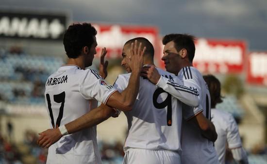 Getafe 0-3 Real Madrid: Thắng lớn dù không Ronaldo (VIDEO)