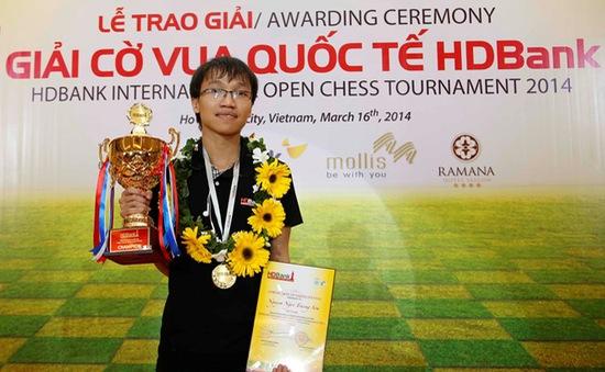 Trường Sơn vô địch giải cờ vua quốc tế HDBank 2014