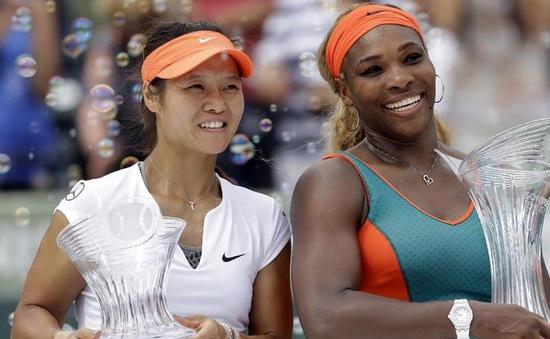 Miami Masters 2014: Đánh bại Li Na, Serena lên ngôi vô địch