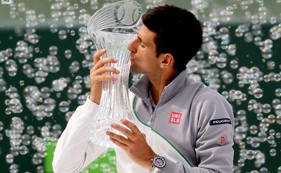 Miami Masters 2014: Lần thứ tư Nadal gục ngã, Djokovic đoạt ngôi vương