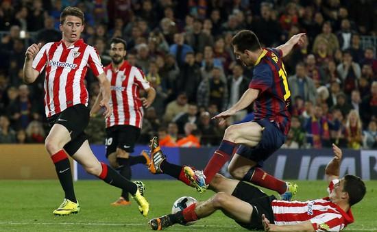 Ngược dòng hạ Bilbao, Barca tiếp tục đua tại La Liga