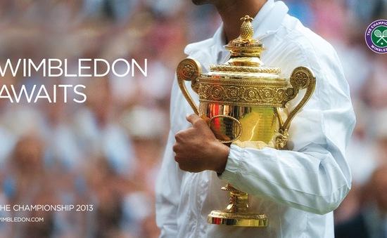 Wimbledon tăng tiền thưởng lên đến 42 triệu USD