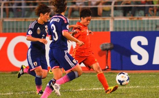 HLV Nhật Bản khen ngợi tinh thần thi đấu của các cô gái Việt Nam