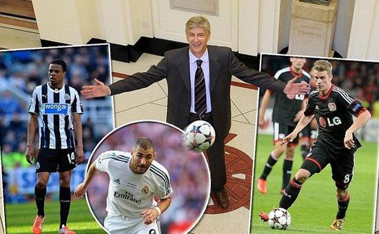 Chuyển nhượng 31/5: Có 100 triệu bảng, Wenger quyết mua Benzema