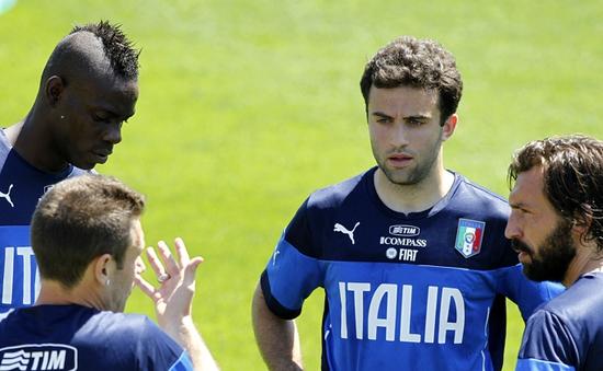 World Cup 2014: Italia chốt danh sách, Giuseppe Rossi bị loại