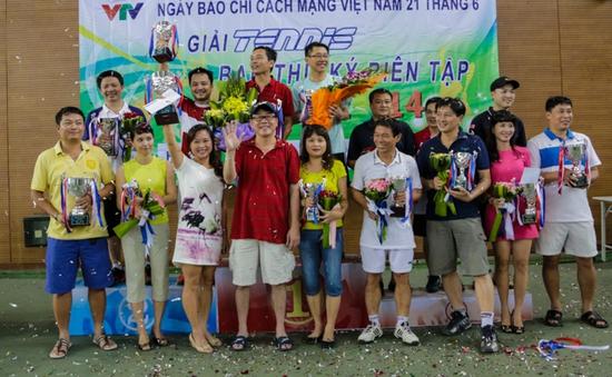 Giải Tennis Ban TKBT - VTV mở rộng 2014 kết thúc tốt đẹp