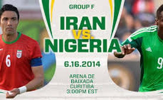 """World Cup 2014, bảng F, Iran - Nigeria: """"Đại bàng"""" đi săn! (2h00 ngày 17/6, VTV3)"""