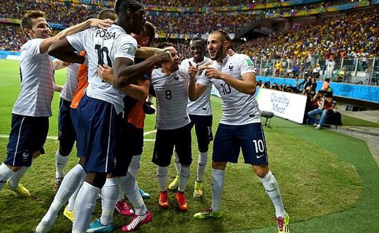 Bảng E World Cup 2014, Pháp 5-2 Thuỵ Sĩ: Bữa đại tiệc bàn thắng
