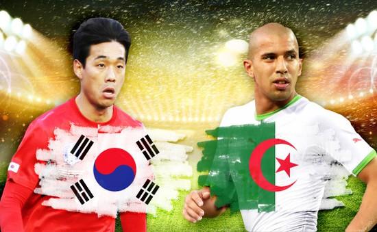 """2h00 ngày 23/6, Hàn Quốc - Algeria: Cơ hội cho """"Cáo sa mạc"""""""