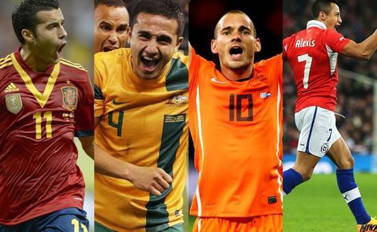 World Cup 2014 bảng B, Hà Lan - Chile: Cuộc chiến ngôi đầu (23h00, 23/6, VTV6)
