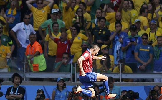 Chấm điểm Brazil - Chile: Không phải Neymar, Cesar, Luiz... Sanchez mới là ngôi sao sáng nhất