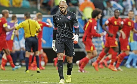 Khoảnh khắc chiến thắng nghẹt thở của tuyển Bỉ trước người Mỹ