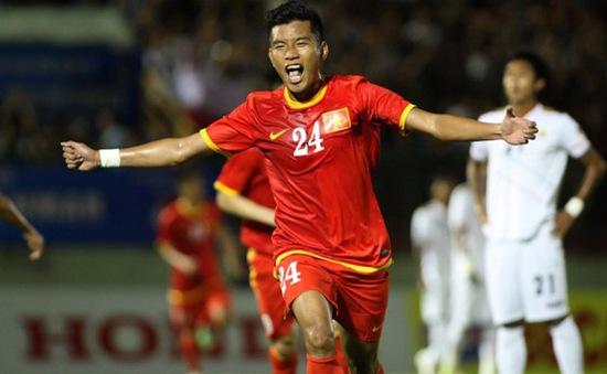 Công Vinh lập hat-trick, ĐTVN thắng đậm Myanmar
