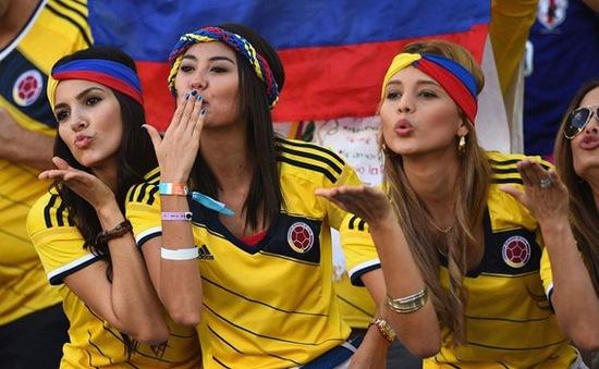 ĐT Colombia được chào đón như những anh hùng dân tộc trong ngày trở về