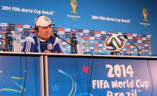 """HLV Sabella: """"Muốn đánh bại Đức, Argentina phải hoàn hảo"""""""