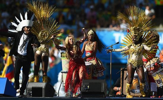 World Cup 2014: Những khoảnh khắc ấn tượng trong lễ bế mạc