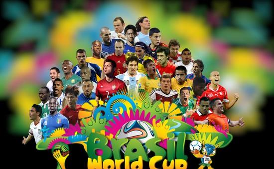 Những con số thống kê ấn tượng của World Cup 2014