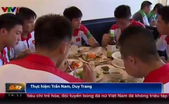 U19 Việt Nam được ăn ngon tại giải vô địch U22 Đông Nam Á ở Brunei